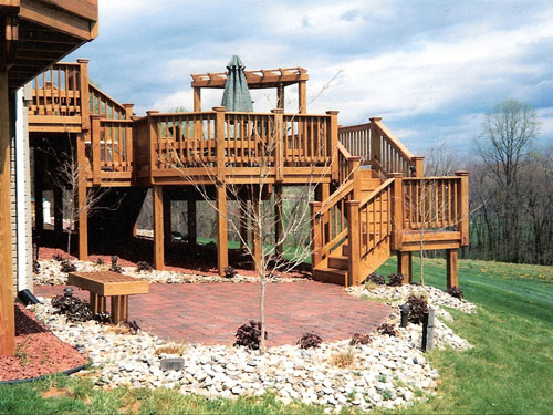 Merveilleux Custom Built Decks, Patios, And Porches